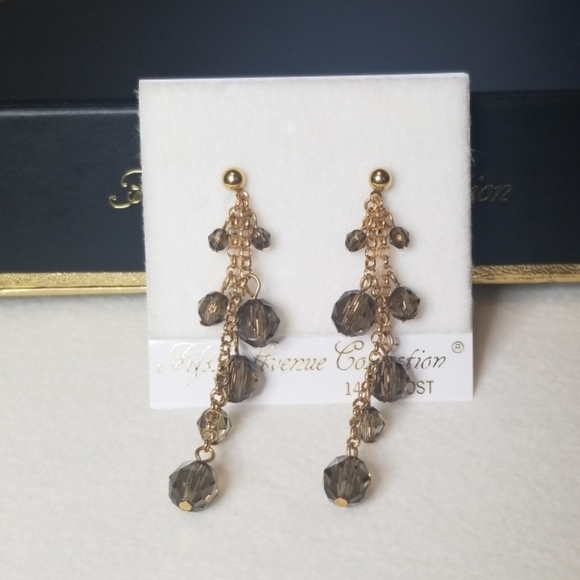 Fifth Avenue Collection Jewelry - FIFTH AVENUE COLLECTION chandelier earrings.